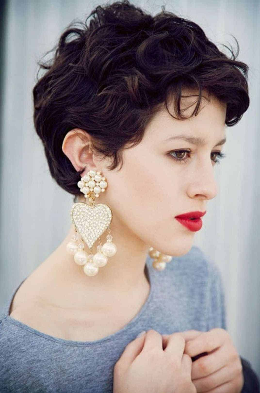 Short Pixie hairstyles for School girls and collage girls