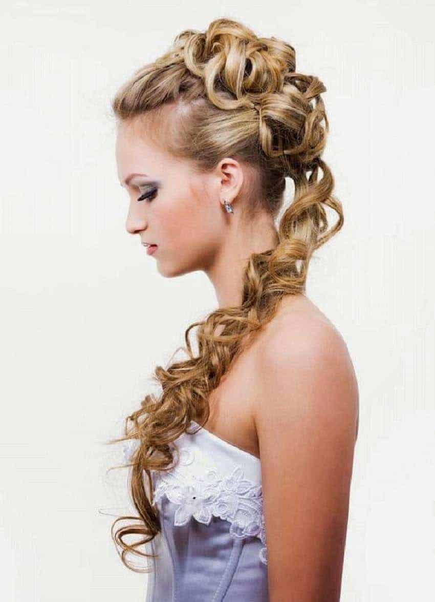 Updo Hairstyles for blonde women