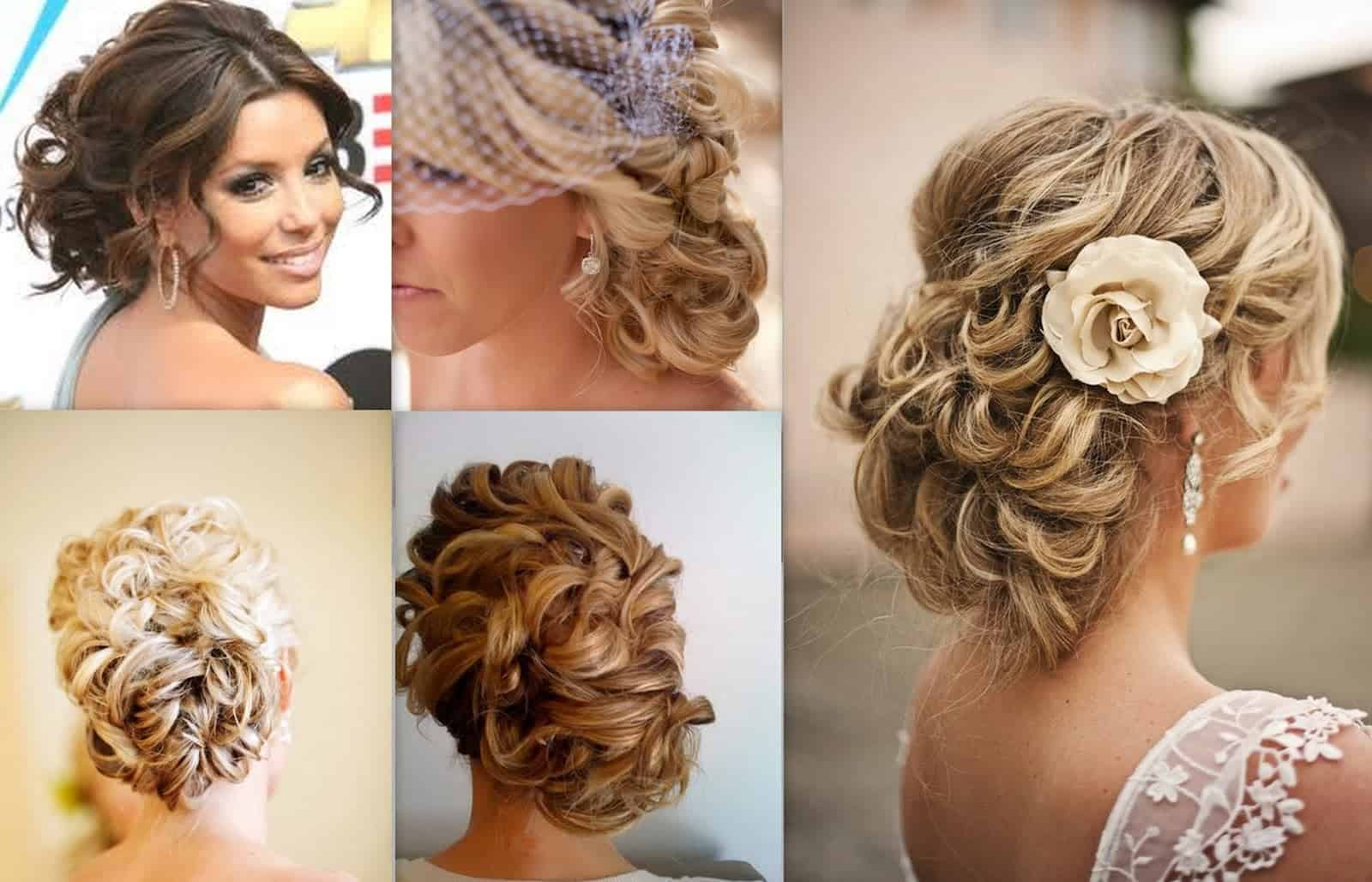 Different side bun hairstyles for wedding ceremony