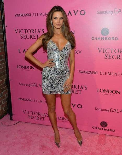 alessandra ambrosio Black And White prom dresses