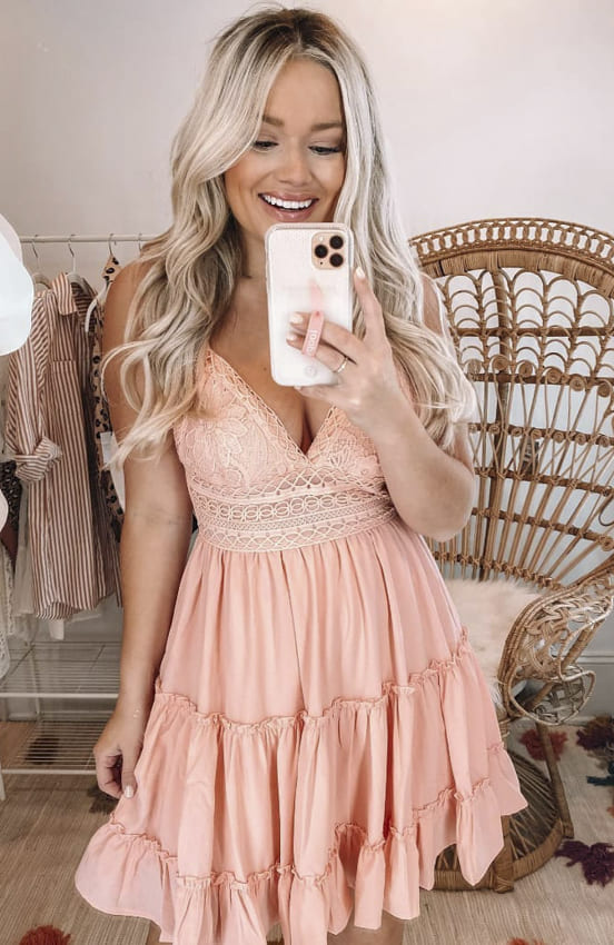 Cocktail dress for stylish women