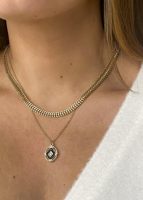 18k gold necklace (1)