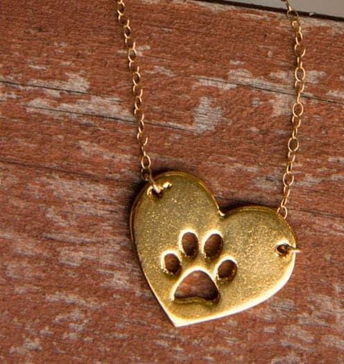 Wedding dog necklace