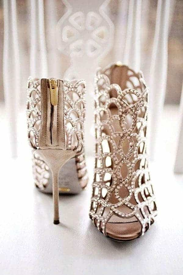 Wedding shoes diamond 2