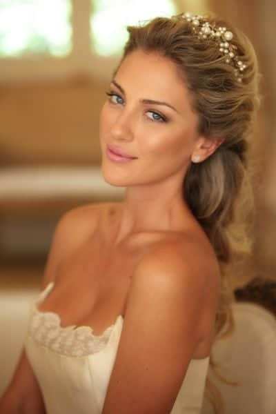 Beautiful makeup for wedding brides