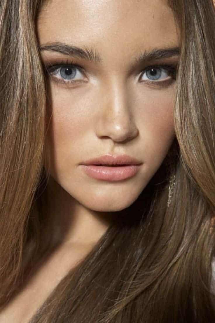 Natural makeup for beautiful ladies