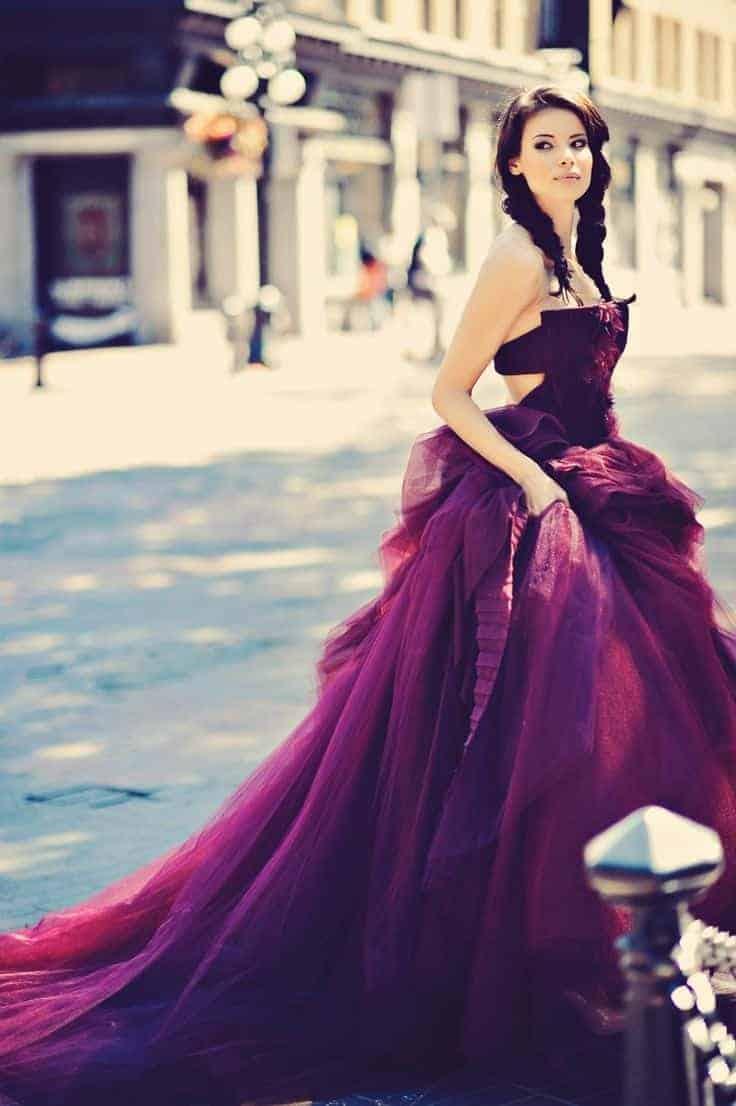 Awesome Purple Dress
