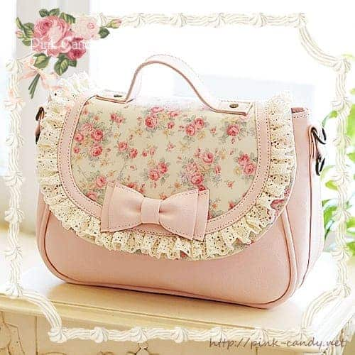 Nice bag with flowers