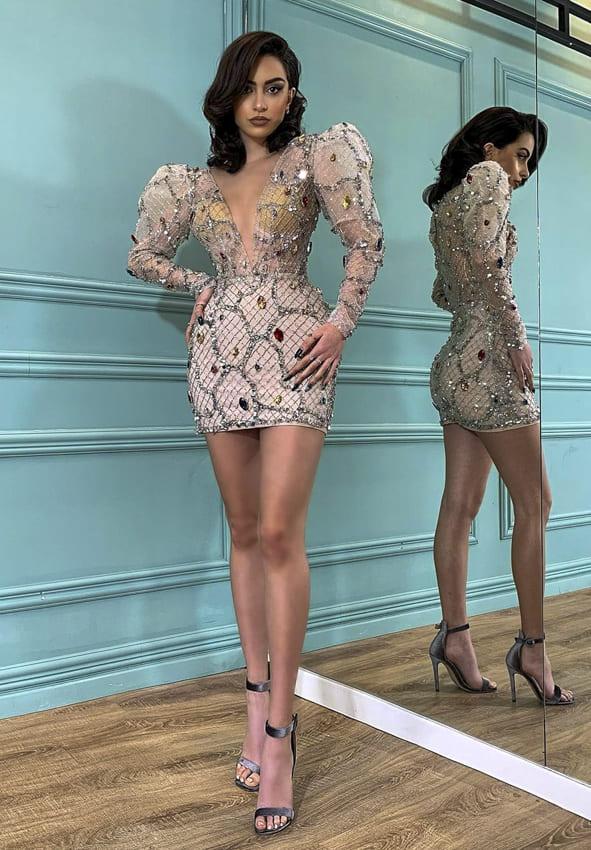 Ball Short Dress