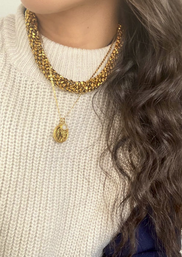Gold necklaces for beauty Women (8)