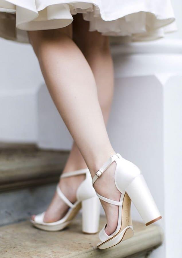 block heel wedding shoes (1)