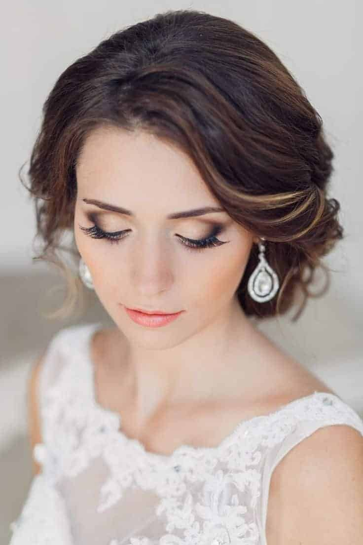 Beautiful bridal make up for wedding 2018