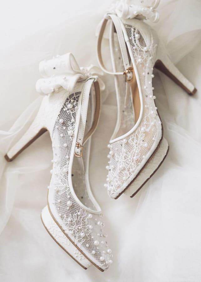 lace wedding shoes (1)
