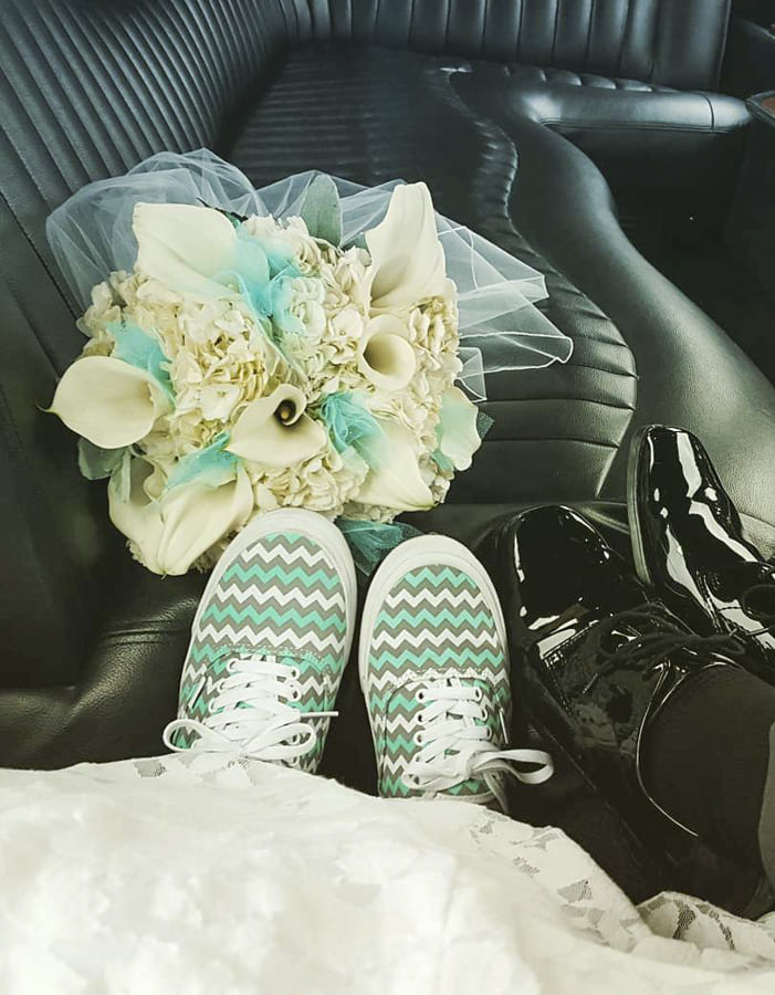 non traditional wedding shoes (2)