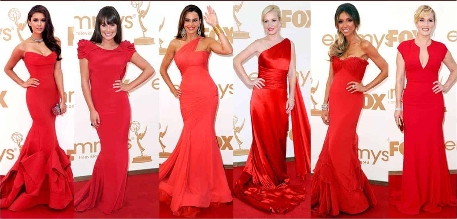 Red Carpet and red dresses 2018