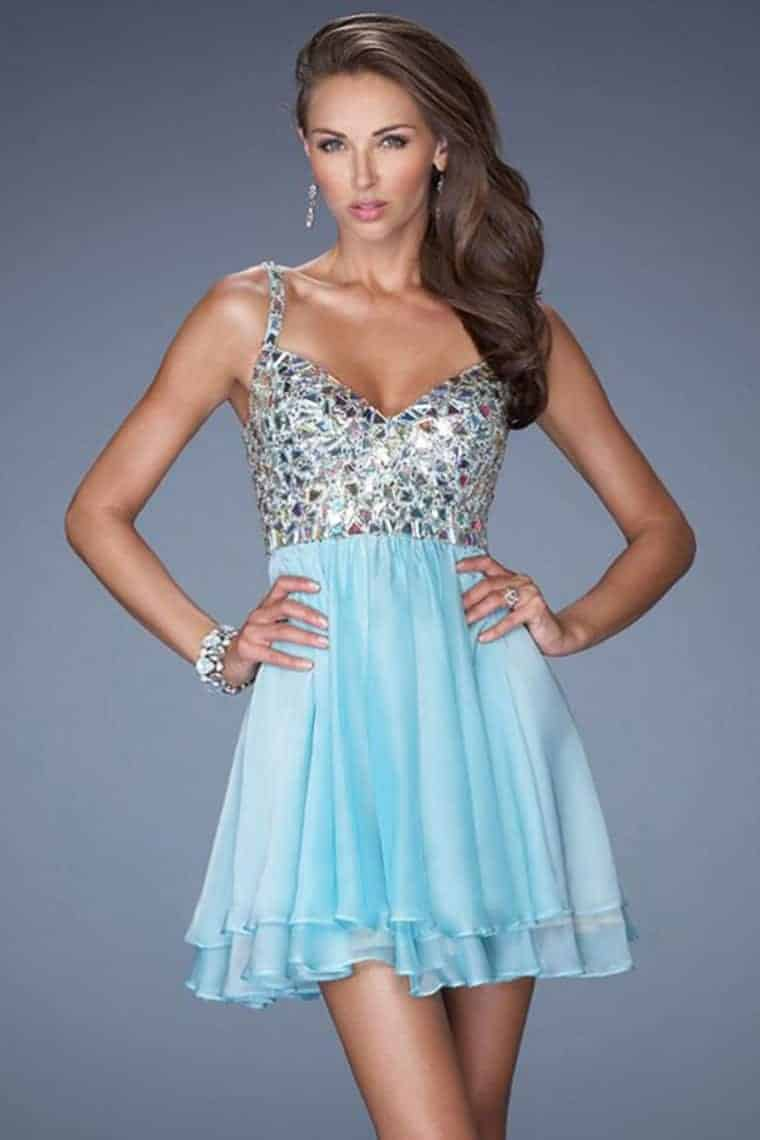Blue women dresses for Teen Ladies