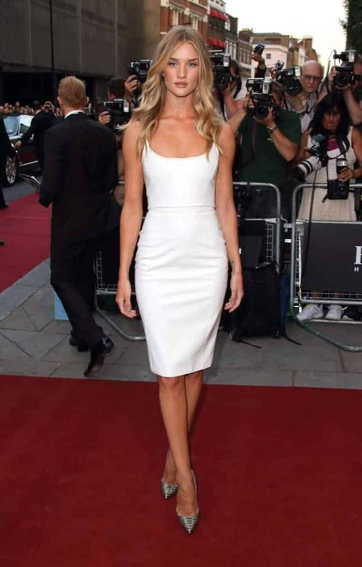 White dresses for celebrity women 2018