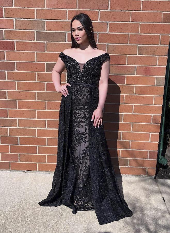 black special occasion dresses