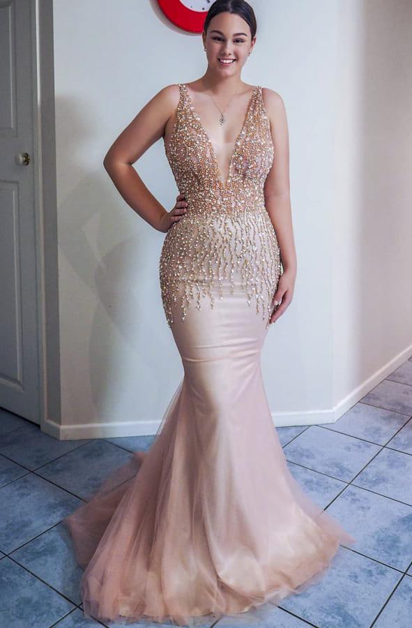 pink formal dresses (2)