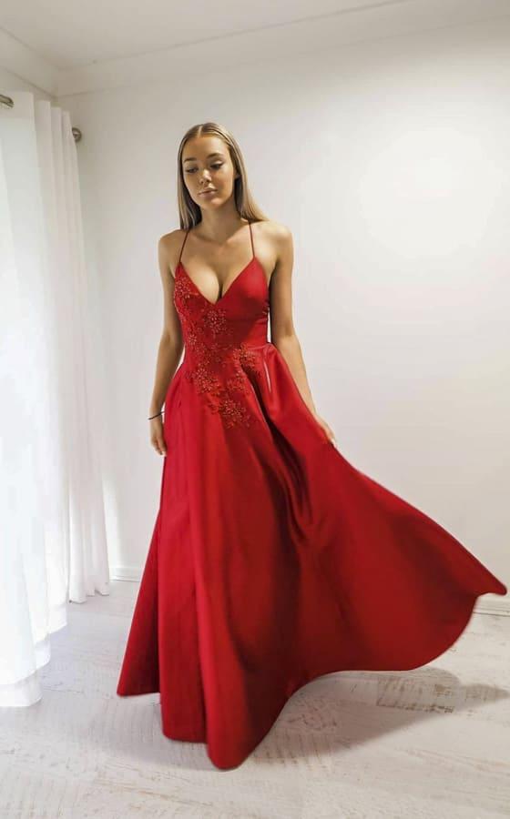 red formal dresses (2)