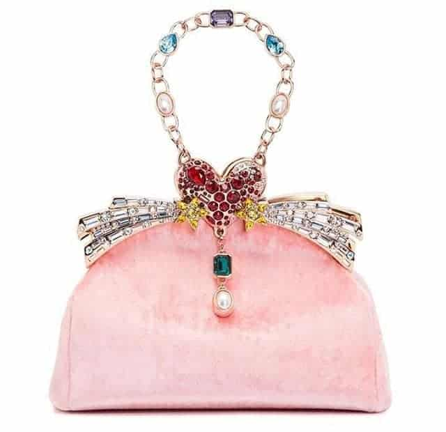Wonderful chain, stylish design, Pink handbag