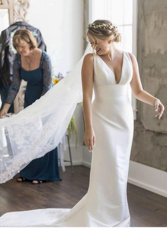 32 Bridal Dresses for Elegant Wedding 2021 (4)