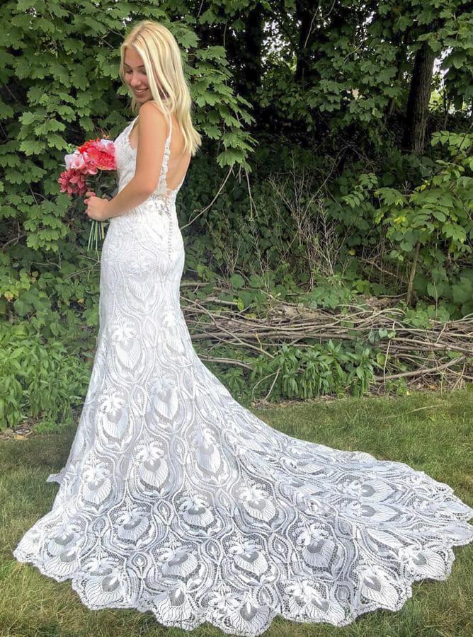 32 Bridal Dresses for Elegant Wedding 2021 (7)