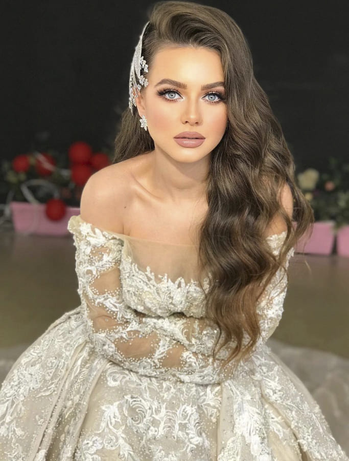 32 Bridal Dresses for Elegant Wedding 2021 (13)
