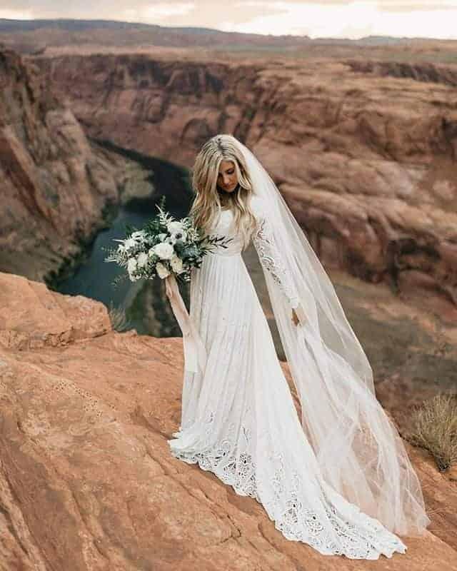 Long veil Wedding Dresses