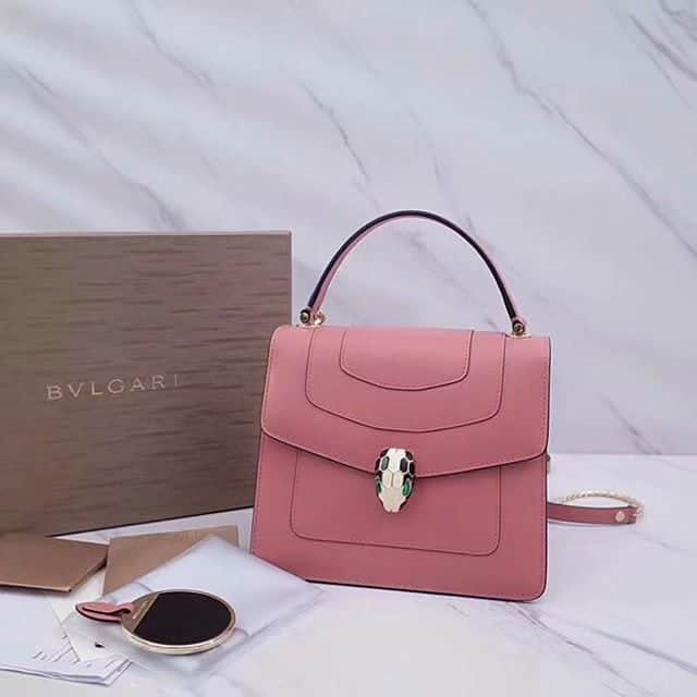 Dark pink color Quality handbag