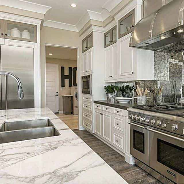 Large and classic kitchen interior designs.