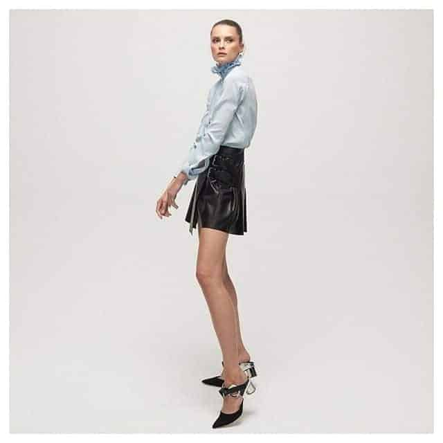Leather skirts with Belt