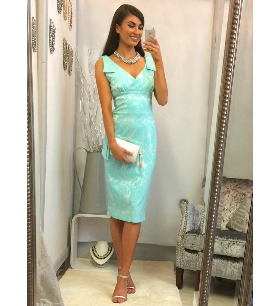 turquoise prom night dresses
