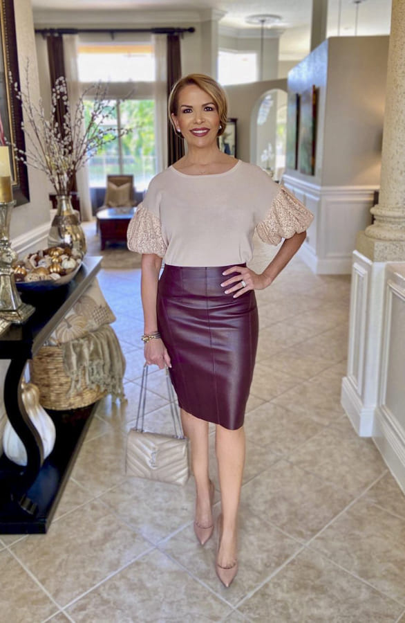 faux leather skirt (1)