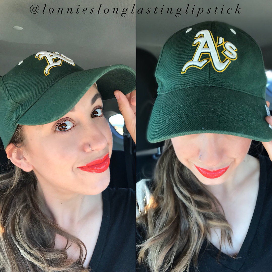 Oakland Athletics Green Women Caps