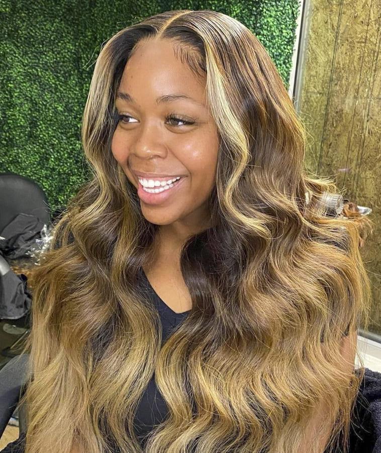 wavy hair for black women