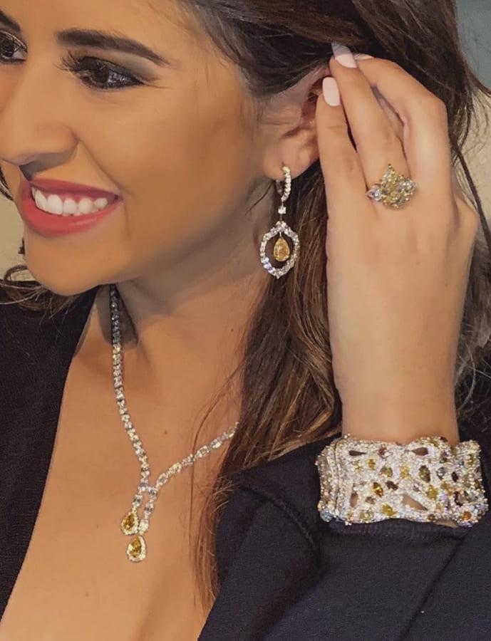 yellow diamond necklace (2)