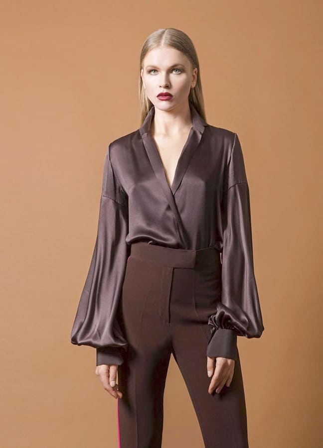 Most popular silk blouses and tops (2)