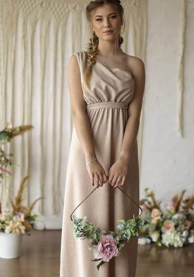 blush summer dress