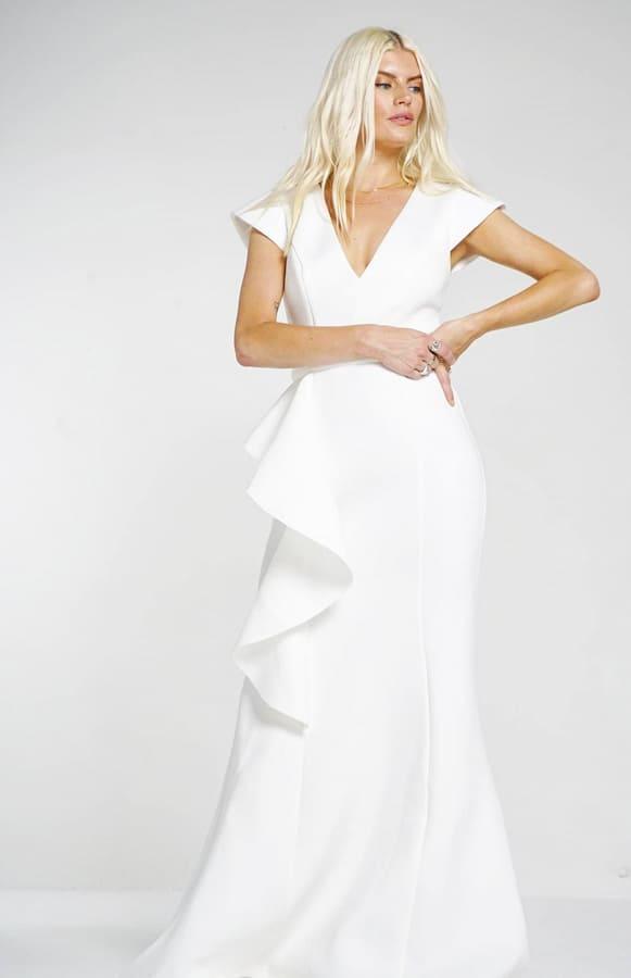 ivory summer dress