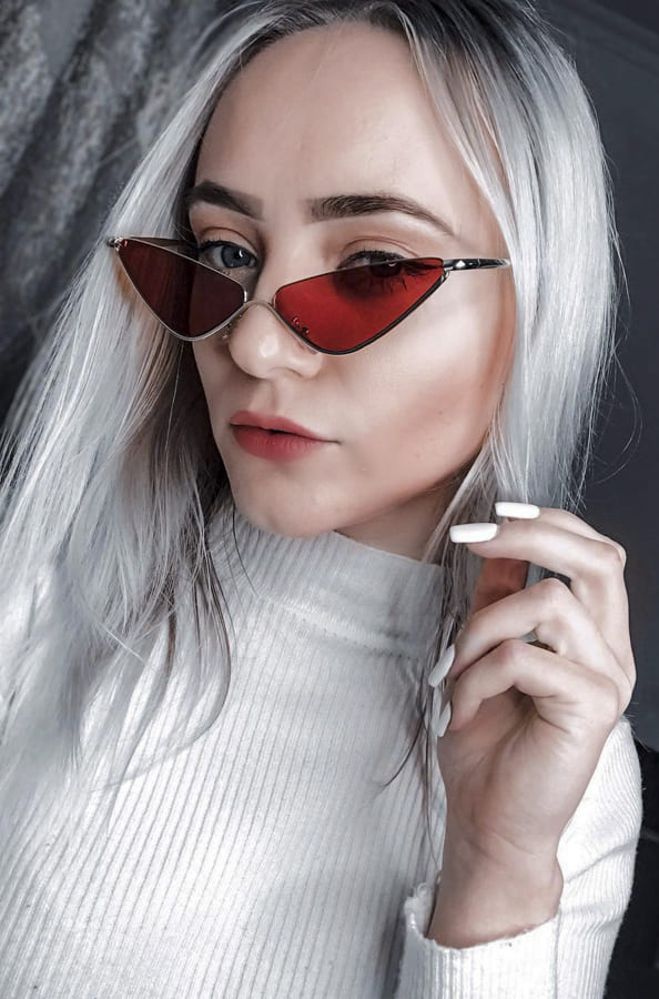 Awesome red sunglasses