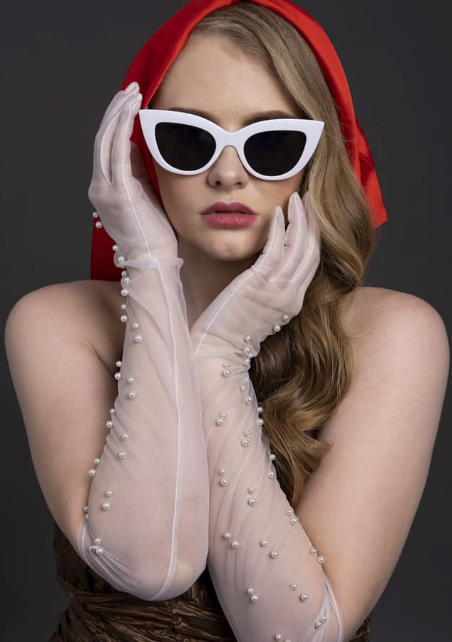Wonderful white sunglasses