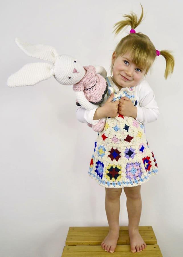 newborn granny square dress pattern