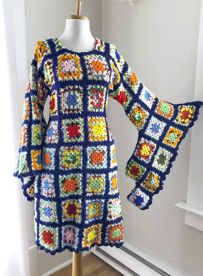 simply be granny square dress (1)