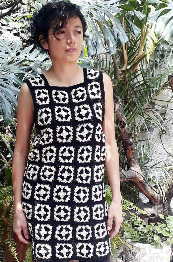 simply be granny square dress (2)