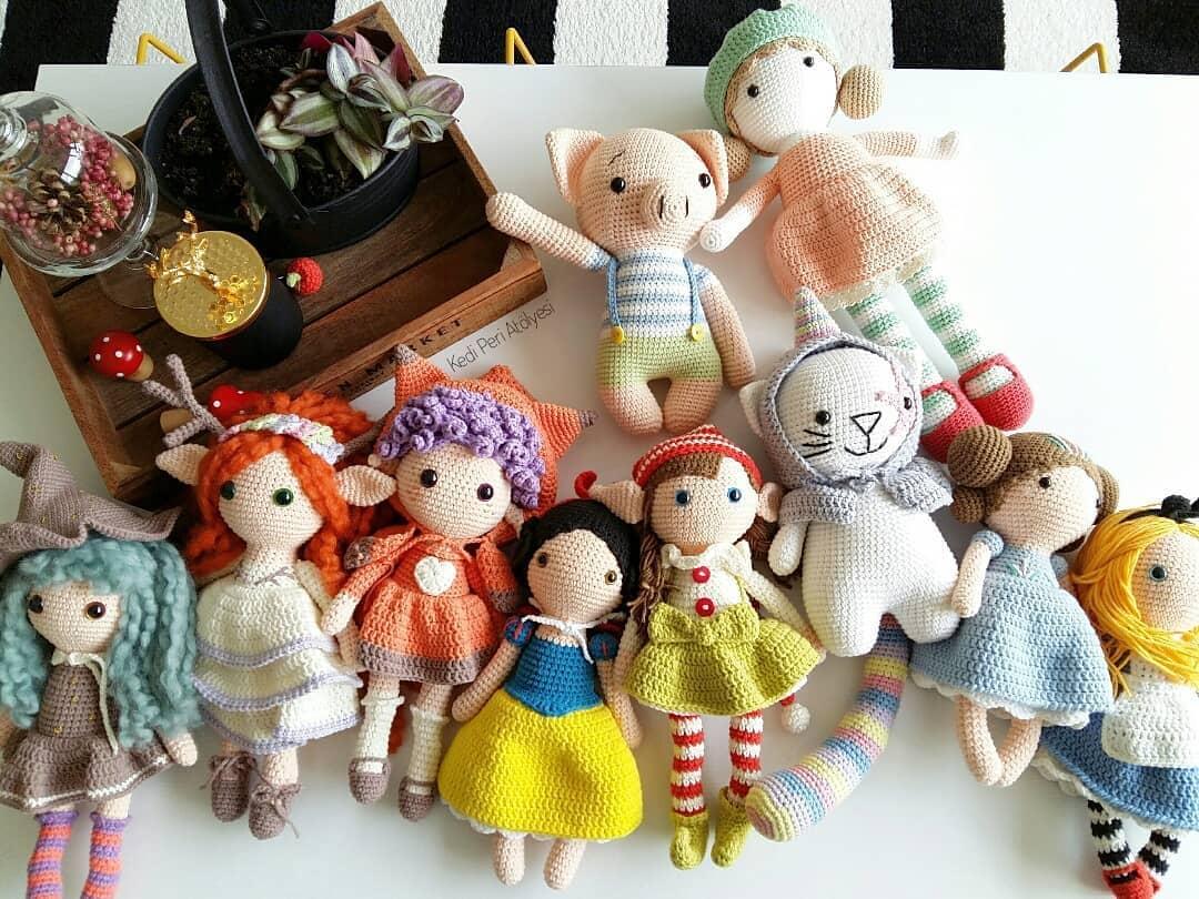 15 Best Amigurumi doll crochet free pattern (1)