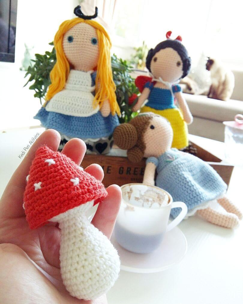 15 Best Amigurumi doll crochet free pattern (2)