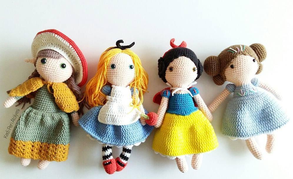 15 Best Amigurumi doll crochet free pattern (3)