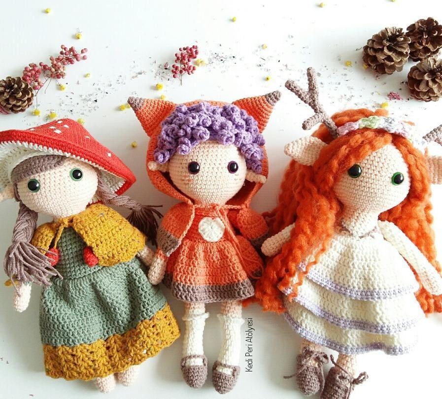 15 Best Amigurumi doll crochet free pattern (4)