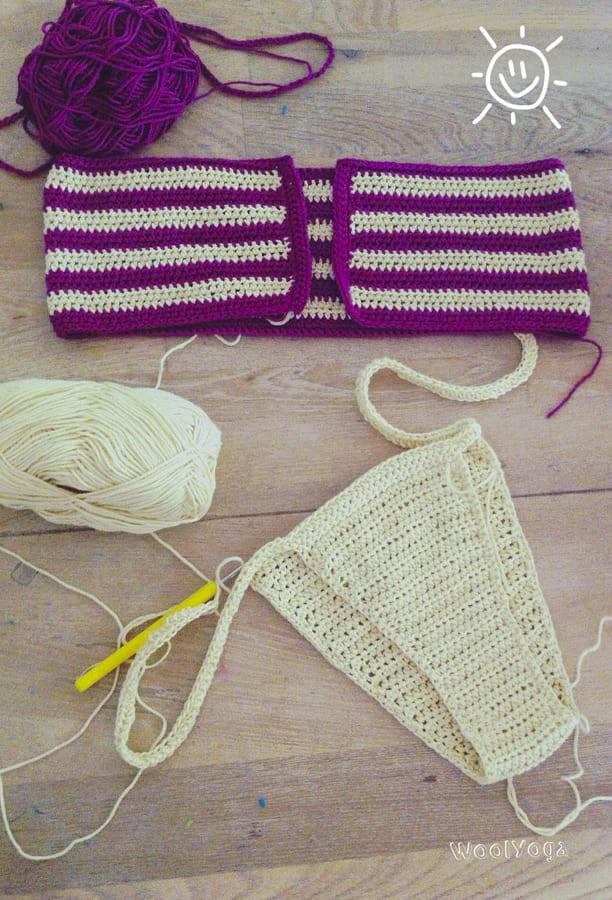 brazilian crochet bikini